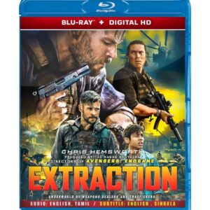 Extraction ( Blu-ray 2020 ) Region free !!!