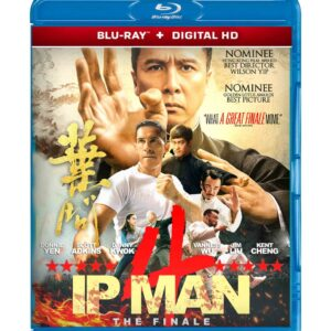 Ip Man 4: The Finale ( Blu-ray 2019 ) Region free !!!