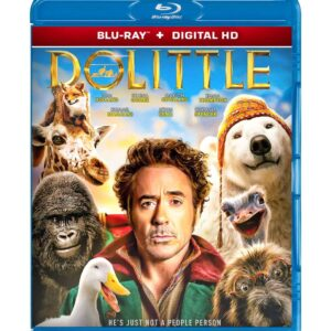 Dolittle ( Blu-ray 2020 ) Region free !!!