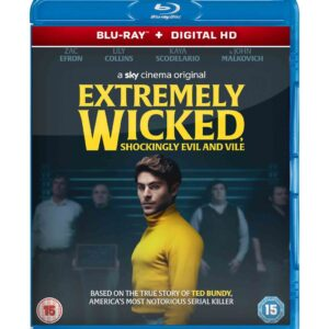 Extremely Wicked, Shockingly Evil and Vile ( Blu-ray 2019) Region free !!!