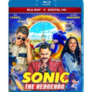 Sonic the Hedgehog ( Blu-ray 2020 ) Region free !!!