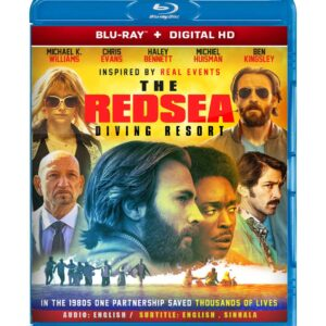 The Red Sea Diving Resort ( Blu-ray 2019) Region free !!!