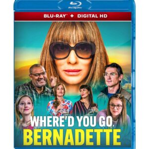 Where'd You Go, Bernadette ( Blu-ray 2020) Region free !!!