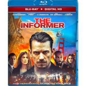 The Informer ( Blu-ray 2019) Region free !!!