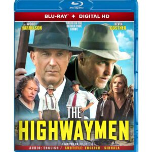 The Highwaymen ( Blu-ray 2019) Region free !!!