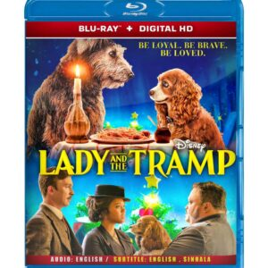 Lady and the Tramp ( Blu-ray 2019) Region free !!!