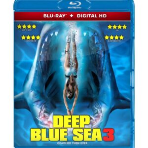 Deep Blue Sea 3 ( Blu-ray 2020 ) Region free !!!