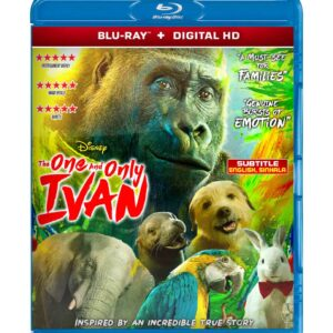 The One and Only Ivan ( Blu-ray 2020 ) Region free !!!