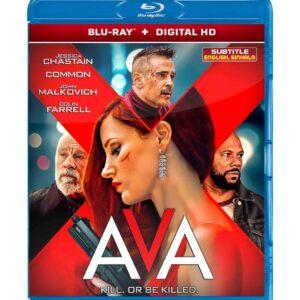 Ava ( Blu-ray 2020 ) Region free !!!