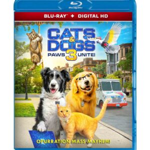 Cats & Dogs 3: Paws Unite ( Blu-ray 2020 ) Region free !!!