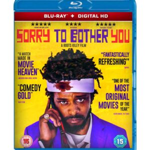 Sorry to Bother You  ( Blu-ray 2018 ) Region free !!!