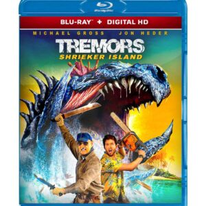 Tremors: Shrieker Island ( Blu-ray 2020 ) Region free !!!
