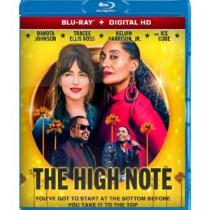 The High Note  ( Blu-ray 2020 ) Region free !!!