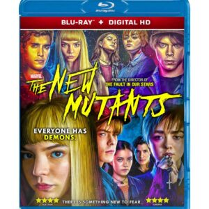 The New Mutants ( Blu-ray 2020 ) Region free !!!