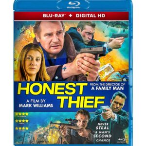 Honest Thief ( Blu-ray 2020 ) Region free !!!