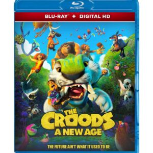 The Croods: A New Age (Blu-ray 2020) Region free !!!