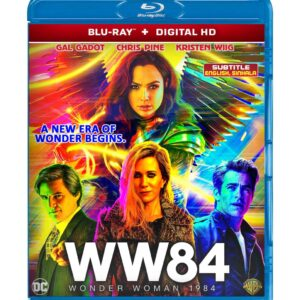 Wonder Woman 1984 ( Blu-ray 2020 ) Region free !!!