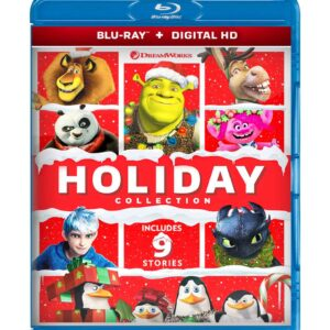 DreamWorks Ultimate Holiday Collection (Blu-ray 2020) Region free !!!