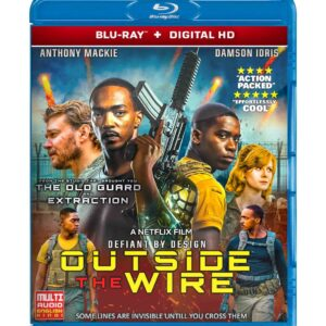 Outside the Wire (Blu-ray 2021) Region free !!!