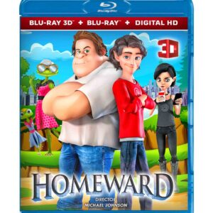 Homeward (3D Blu-ray 2020) Region free !!!
