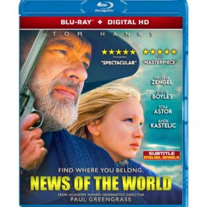 News of the World (Blu-ray 2020) Region free !!!