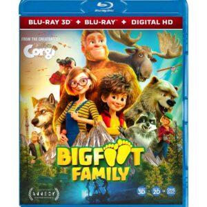 Bigfoot Family (3D Blu-ray 2020) Region free !!!