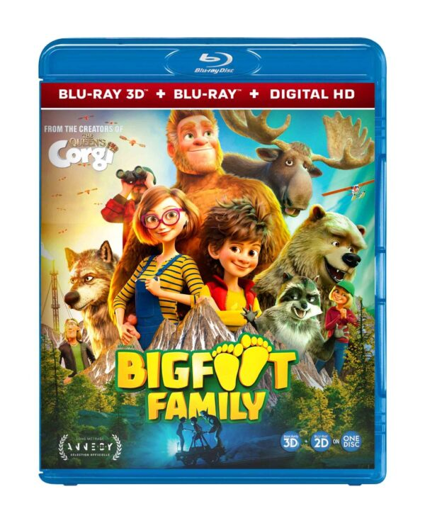Bigfoot family bluray