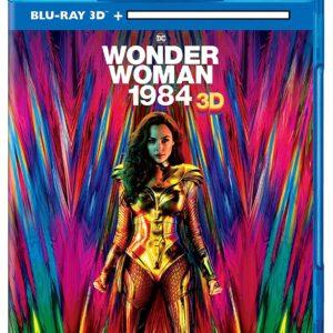 Wonder Woman 1984  (3D Blu-ray 2020) Region free !!!