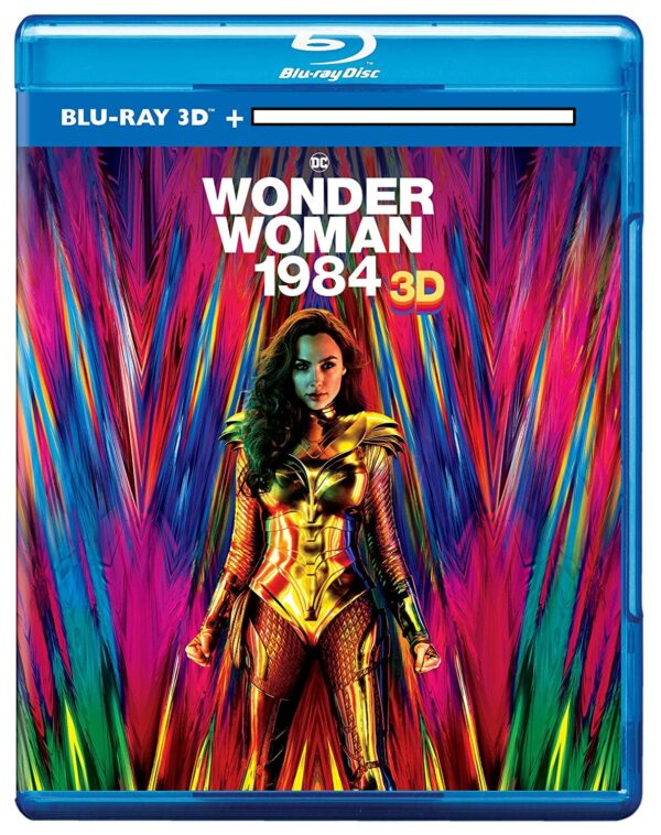 wonder women 1984 3D