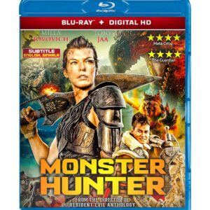 Monster Hunter (Blu-ray 2020) Region free !!!