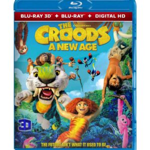 The Croods: A New Age (3D Blu-ray 2020) Region free !!!