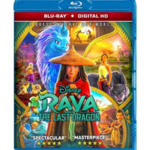 Raya and the Last Dragon (Blu-ray 2021) Region free !!!