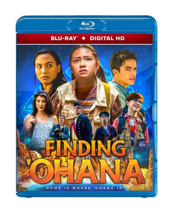 Finding 'Ohana blu-ray