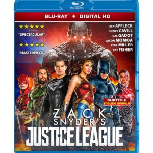 Zack Snyder's Justice League (Blu-ray 2021) Region free !!!