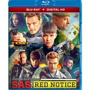 SAS: Red Notice (Blu-ray 2021) Region free !!!