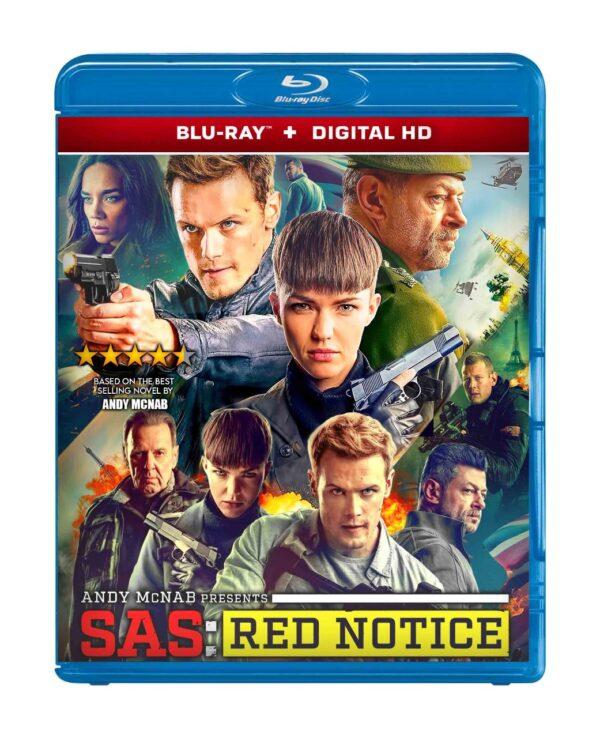 SAS: Red Notice bluray