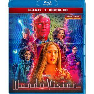 WandaVision (Blu-ray 2021) Region free !!!
