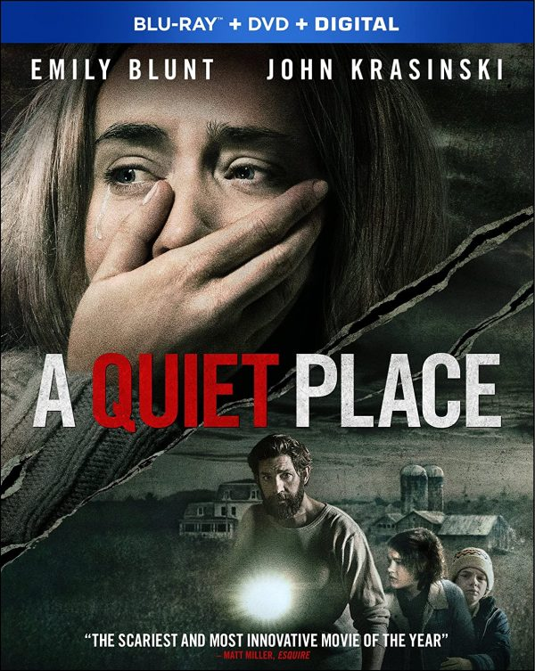A Quiet Place Part II bliuray
