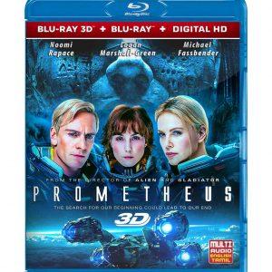 Prometheus (3D Blu-ray 2012) Region free !!!