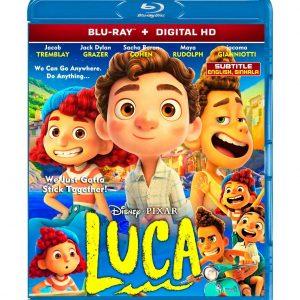 Luca (Blu-ray 2021) Region free !!!