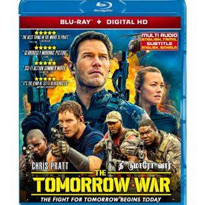 The Tomorrow War (Blu-ray 2021) Region free !!!