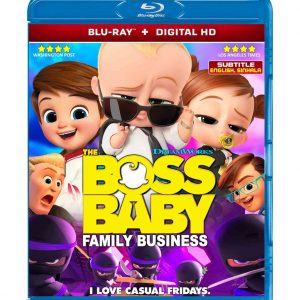 The Boss Baby: Family Business (Blu-ray 2021) Region free !!!