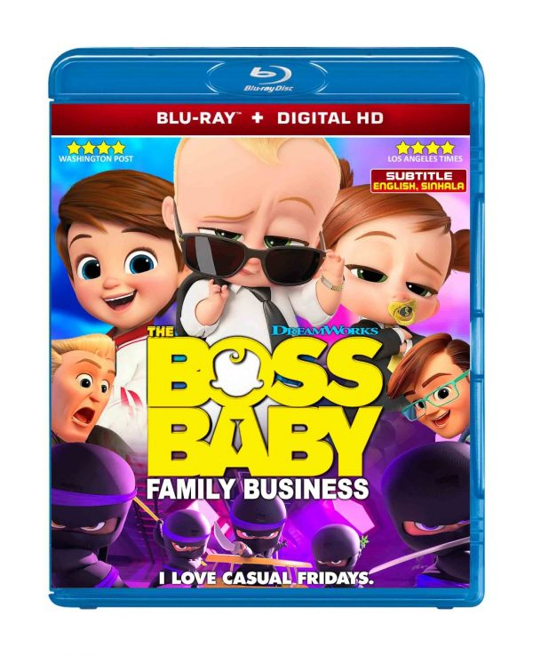 The Boss Baby: Family Business bluray