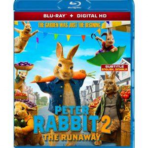 Peter Rabbit 2: The Runaway (Blu-ray 2021) Region free !!!