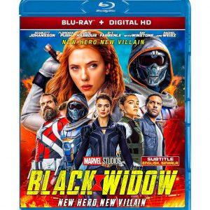 Black Widow (Blu-ray 2021) Region free !!!