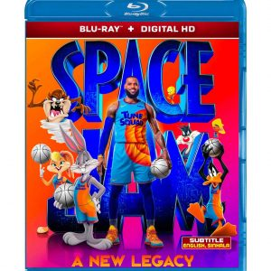 Space Jam: A New Legacy (Blu-ray 2021) Region free !!!