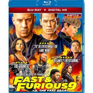 F9: The Fast Saga (Blu-ray 2021) Region free !!!