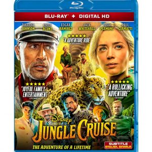 Jungle Cruise (Blu-ray 2021) Region free !!!