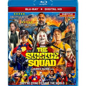 The Suicide Squad (Blu-ray 2021) Region free !!!