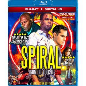 Spiral (Blu-ray 2021) Region free !!!